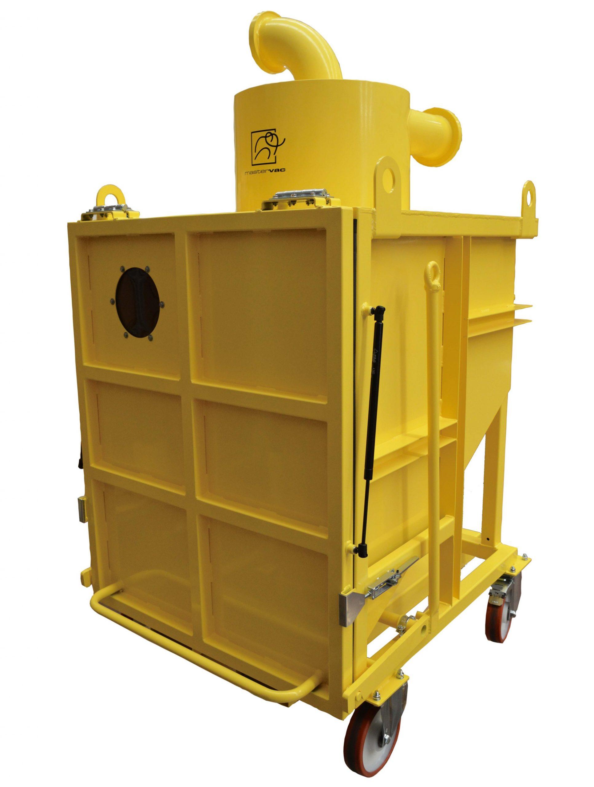 Fahrbarer Kipp-Vorabscheider-Container